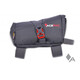 Acepac Roll Fuel Frame Bag - Sac porte-bagages - gris/rouge